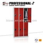 durable modern design 6 door garage steel bathroom cabinet locker