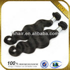 100% Unprocessed kids ponytail high quality soft virgin human hair extension