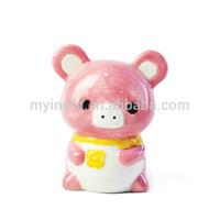 Wholesale pink Pig ceramic money bank