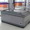 Minus-25 sorvete bunker- peito baixa temperatura ce geladeira comercial curvo freezer ilha freezer