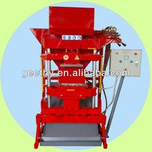 Eco Premium 2700 eco brick making machine / mini equipment for production / clay small making equipment