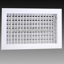 Super quality double deflection air ventilation aluminum louvered vents