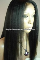 top fashion stock brazilian hair yak hair wig