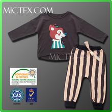 OEKO-TEX casual summer wholesale designer clothing for kids