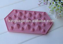 MiNi Diamond shape ice cube tray ,jewel shape ice cream mold
