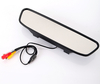 """High resolution 4.3"""" Color TFT LCD rearview mirror car monitor 4.3 inch 16:9 screen DC 12V car Monitor for DVD Camera VCR"""