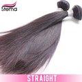 nouveauté 6a couleur noire naturelle vierge cheveux indiens droite