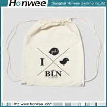 High quality custom promotional sheer mesh drawstring plastic gift bag