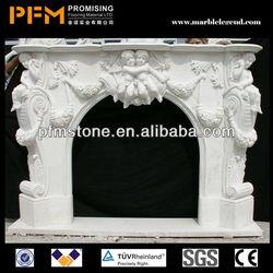 Factory directly sale Top Quality Home decoration quartz fireplace surrounding
