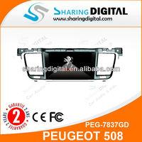 PEG-7837GD PEUGEOT 508 car gps navigation
