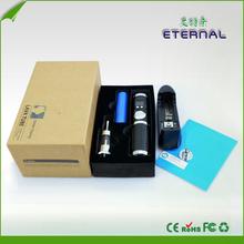 E Cig wax e cig atomizer with Variable Voltage 3V~6V Etrenal icig,electronic cigarette wholesale ego kit