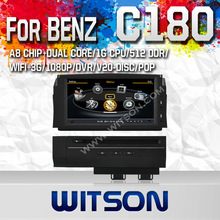 WITSON auto radio dvd gps for BENS C180 MERCEDES-BENZ R350 WITH A8 CHIPSET 1080P V-20DISC WIFI 3G INTERNET DVR SUPPORT