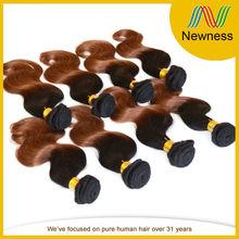 Free Sample 6A Grade Virigin Malaysian Body Wave Ombre Color Hair