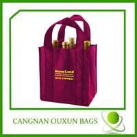 Durable in use liquor bottle bags