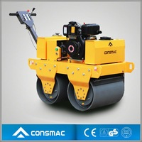 Super Quality CONSMAC handheld vibrating road roller with Top Performance for Sale