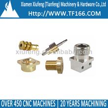 CNC machine turning parts, brass bushing, CNC machining parts