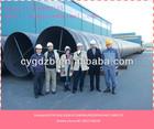 SAW PIPE Photos internal polyurethane coating