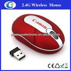 2.4G wireless computer drivers usb mini optical mouse