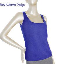2015 Autumn Ladies Royal Bule Cashmere Sets