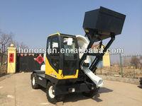 Self Loading Mobile Concrete Mixer /Concrete mixer truck with loader