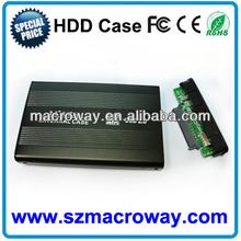 Custom design 3.5 hdd external case sata & ide external case