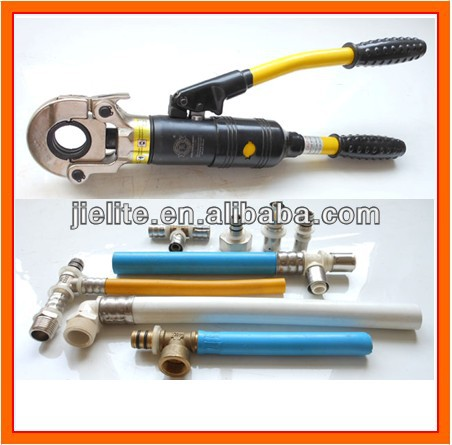 hydraulic pressing tool for pipe crimping 16-32, manual hand press clamp