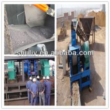 Hardness pressing iron powder briquette machine price/dry powder briquette machine