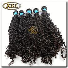 AAAAA kinky curly brazilian remy human hair extension/weaving
