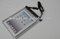 """9.7"""" tablet case PVC dry bag water resist protector in swimming surfing diving"""