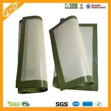 La fábrica de china de calidad alimentaria de silicona no- palo de venta al por mayor de encargo para hornear de silicona esteras/alfombrillas