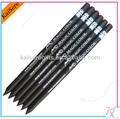 personalizado de lápis de madeira preta com cristal