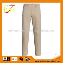 linen light weight casual mens golf trousers