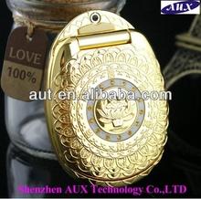Big promtion unlocking Luxury style dual sim phone Gold flip Buddha GSM mobile phone 268