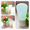 china manufacturer silicone wholesale carry-on squeezable portable leak proof reusable toothpaste container