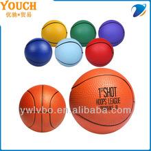 Sports Stress Balls soft pu balls colorful basketball stress ball