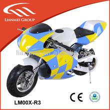 mini chopper pocket bike pocket bike 49cc engine with CE