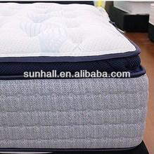 Fashion design hotel bed pocket spring mattress