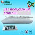 De fibra de puerta de enlace para el hogar, 4ge+2pots+wifi+catv