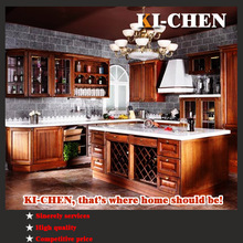 2014 hot sale classical kitchen furniture and solid wood kitchen cabinet professional manufacturer