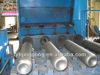 Socket spigot ductile iron pipe shot blasting machine