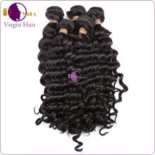 carefully-selected materials natural looking french deep wave human hair