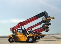 Sany 45ton container reach stacker with Cummins engine SRSC45C2