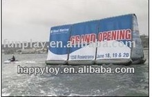 HI CE New style inflatable water billboard for advertisments