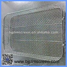 stainless steel sterilizer wire mesh basket