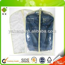 waterproof hanging peva garment bag
