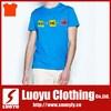 Custom Printed plain blank slim fit O neck t shirt
