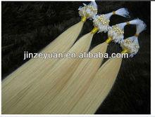 Hot selling 100% virgin human hair micro ring hair extension,Brazilian micro ring loop hair extensions