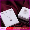 Wholesale fashion 18k white gold pearl jewelry