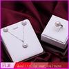 Wholesale fashion 18k white gold pearl jewelry