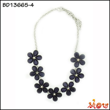 Wholesale engagement late design fashion accessories necklace hawaiian party necklace